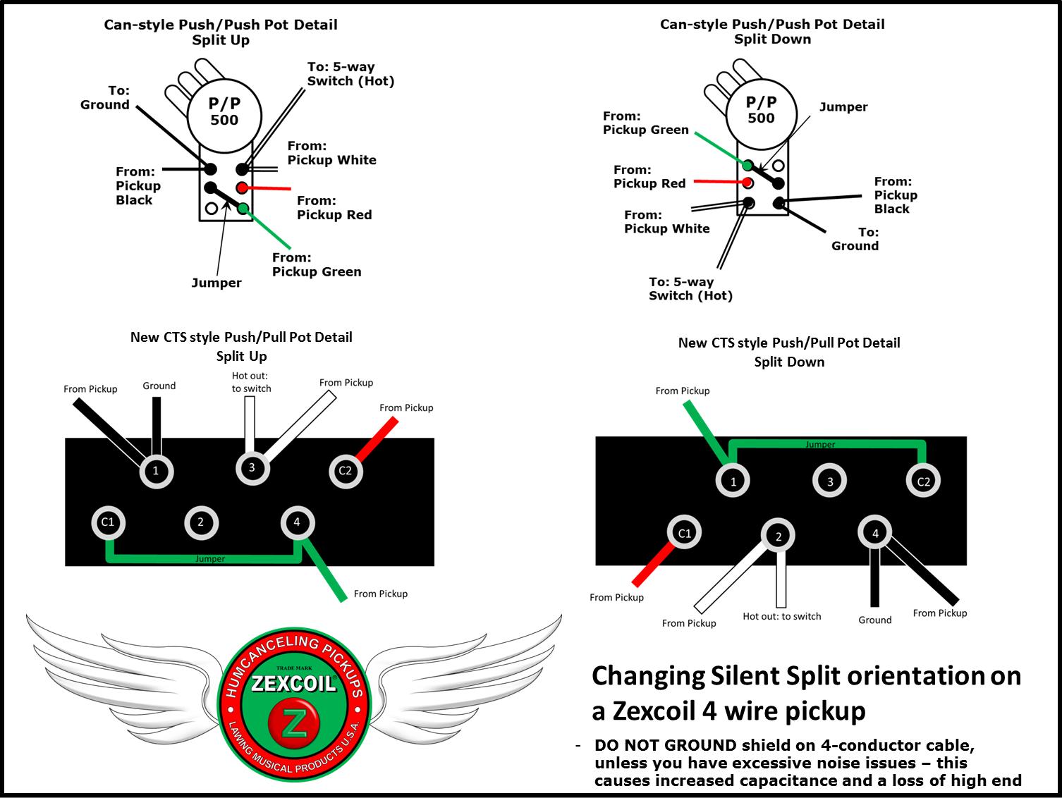 Silent Split Switch Up-Down Orientation