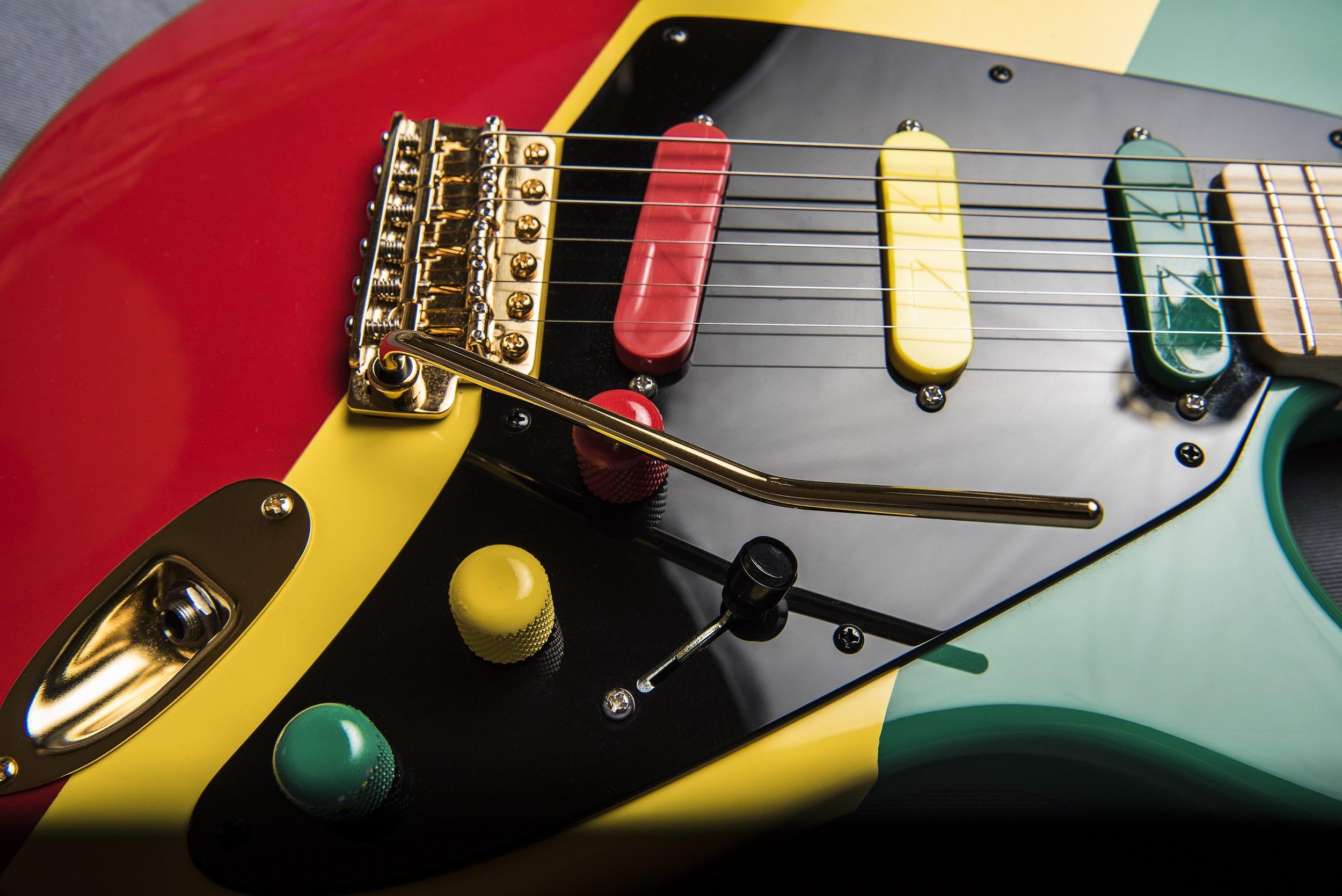 Carl Harvey's Z-Series Guitar Pickups Loaded Guitar