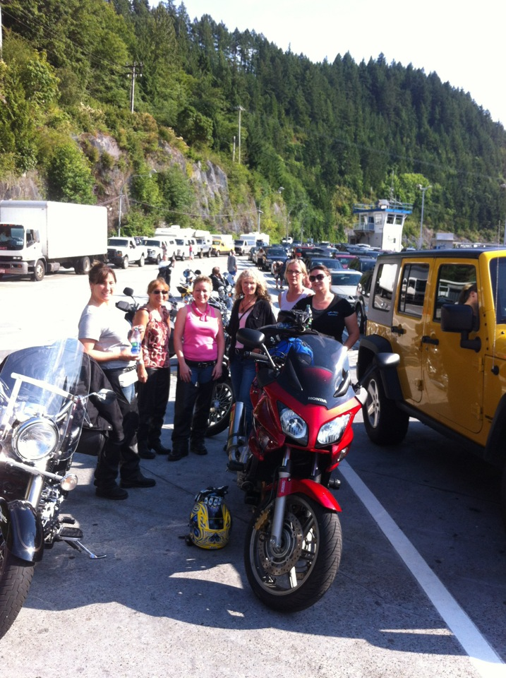 Ride to Sunshine Coast July 2012