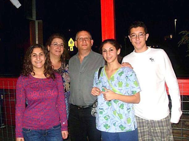 Victor e sua família americana
