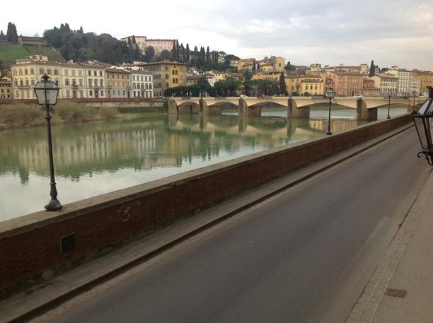 Vista do Rio Arno