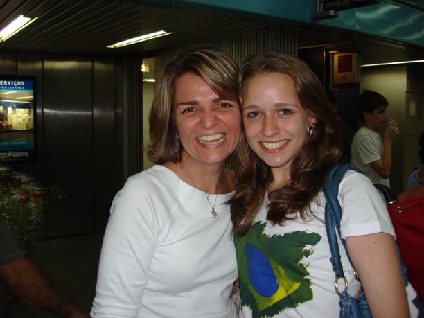Isabel, do ICCE e Yael, em 2007