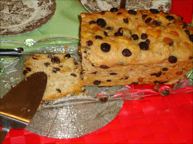 Diet Marzipan Christstollen made with fructose