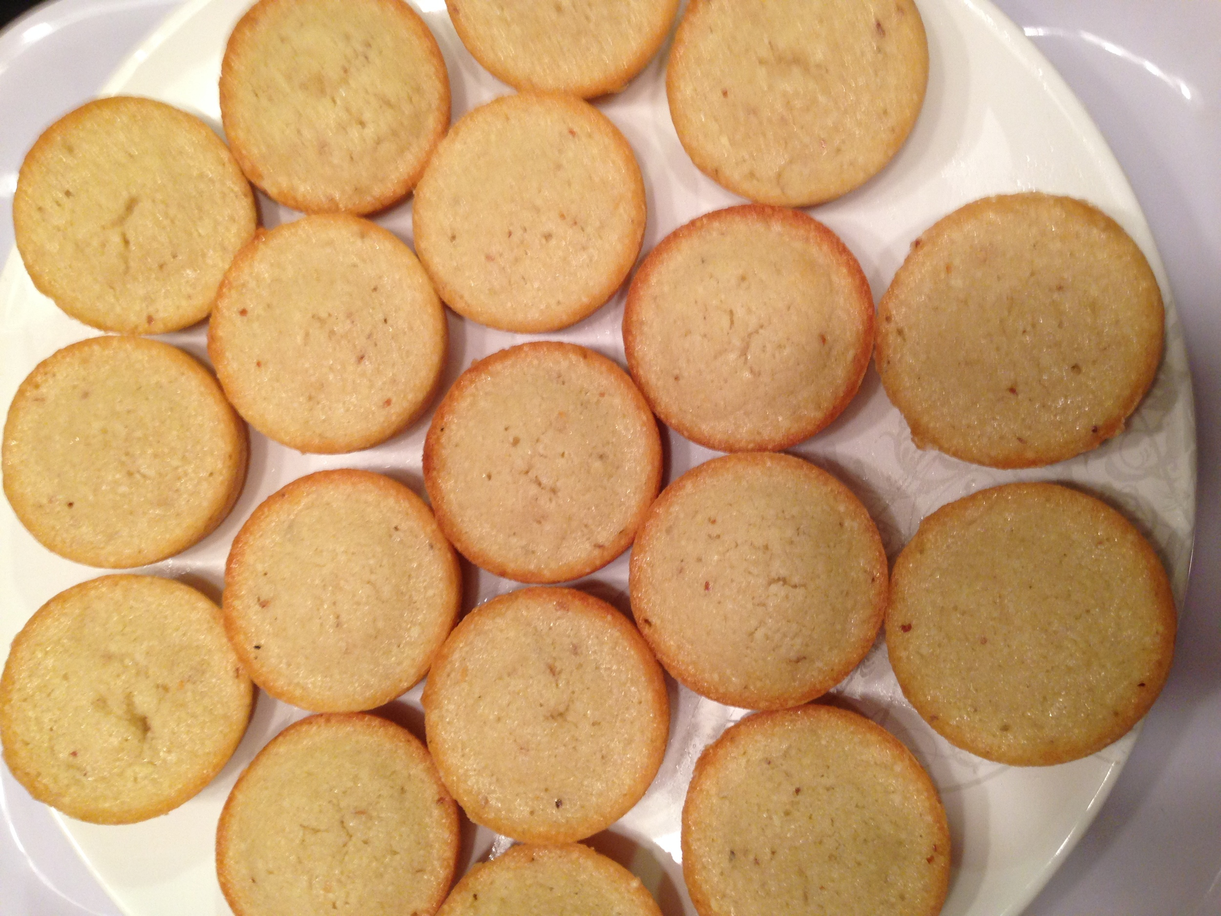 Financiers, a french pastry for coffee break