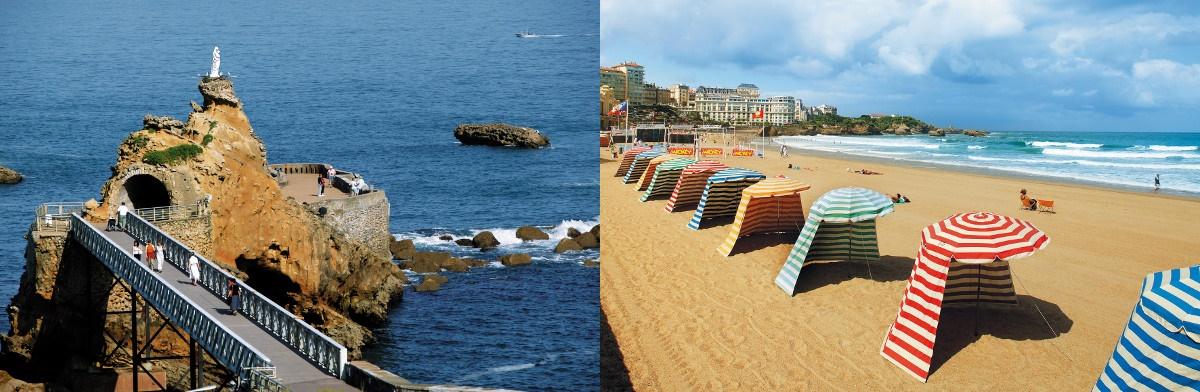 Biarritz, França - 10% de desconto nos cursos de francês!