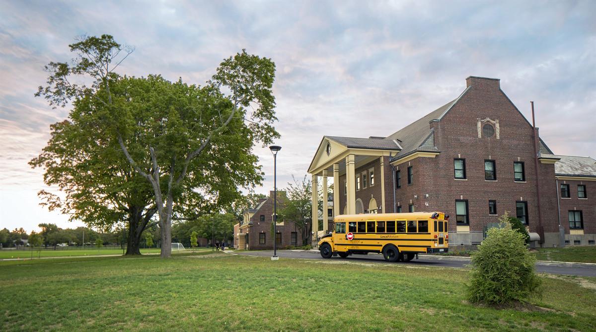 Colégio em Boston - ICCE