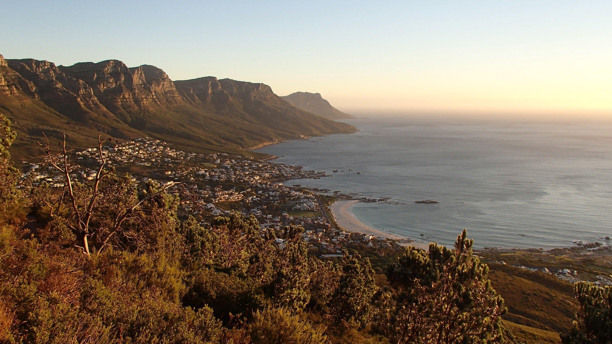 As belezas naturais da Cidade do Cabo