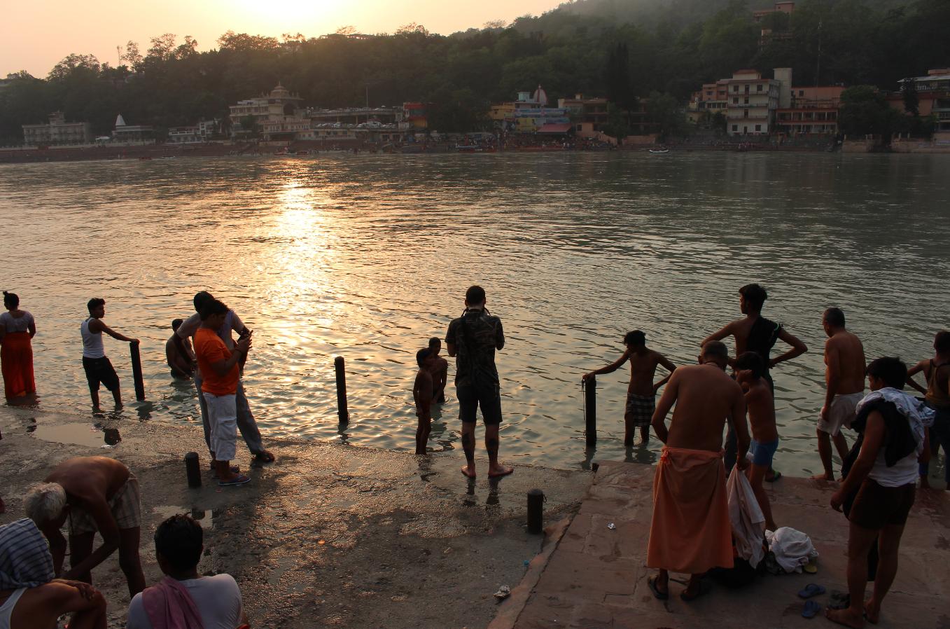 Rishikesh, India - Photograph by Angar Awj