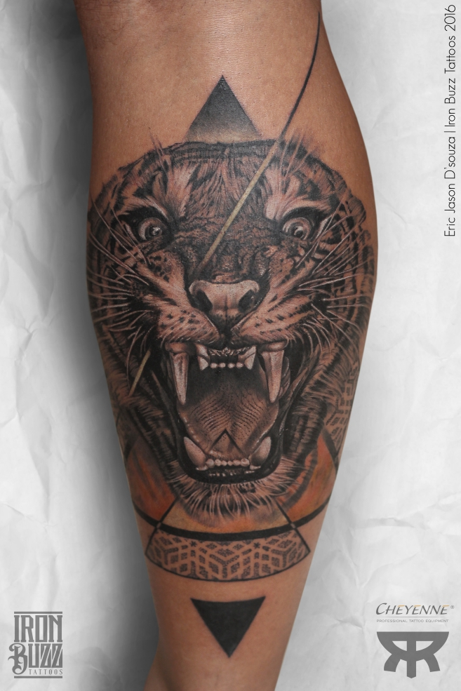 """Roaring Tiger<a href=""""/eric-jason-dsouza"""">→</a><strong>A Tiger doesn't lose sleep over the opinion of a sheep</strong>"""