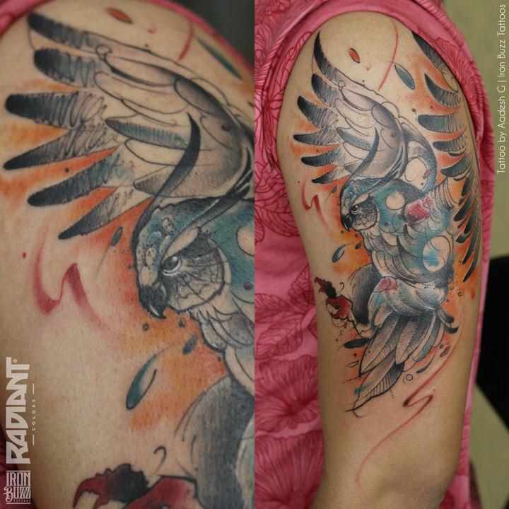 abstract-watercolour-owl-bird-tattoo-iron-buzz-tattoos-in-mumbai-india