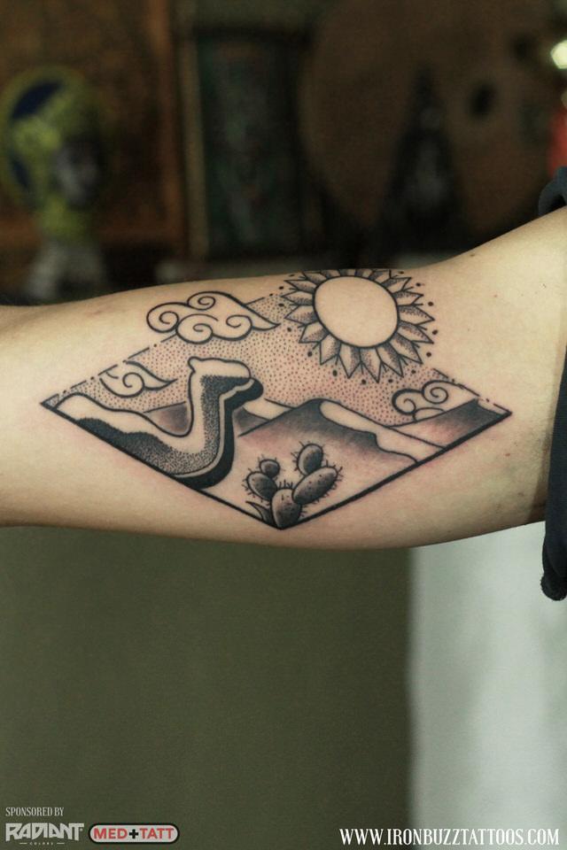 camel-desert-sun-mountain-travel-wanderlust-2-tattoo-by-best-tattoo-artist-jayesh-eric-jason-dsouza-iron-buzz-tattoos-in-mumbai.jpg