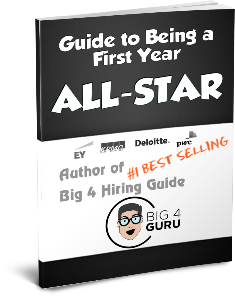 Buy Now and learn how to crush your first few years in Big 4 Accounting Firms!