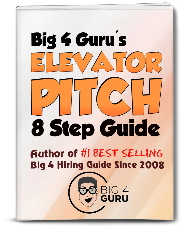 Big 4 Accounting Firm Elevator Pitch!