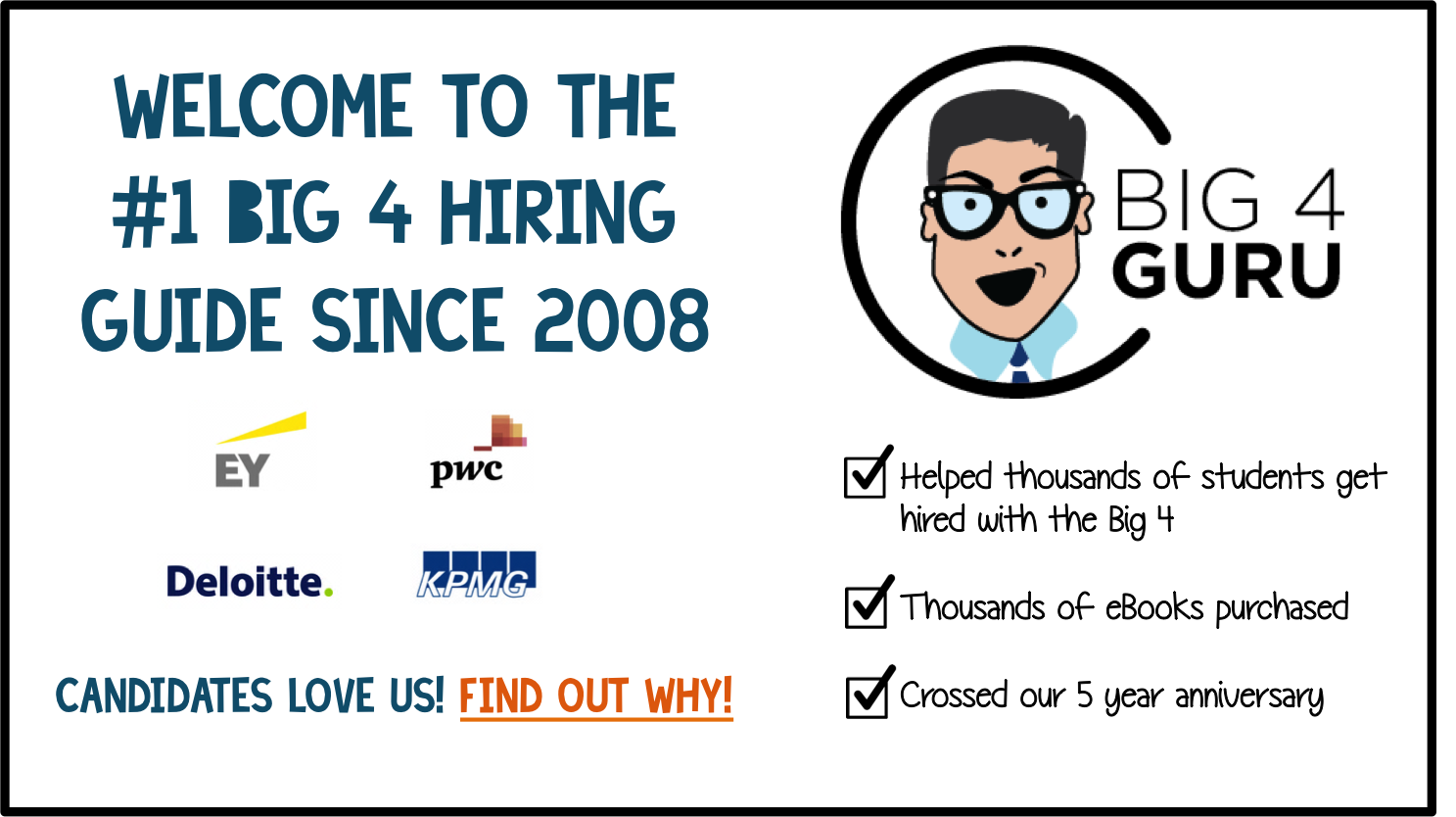 The total resource for anyone looking to get hired by Big 4 Accounting Firms!