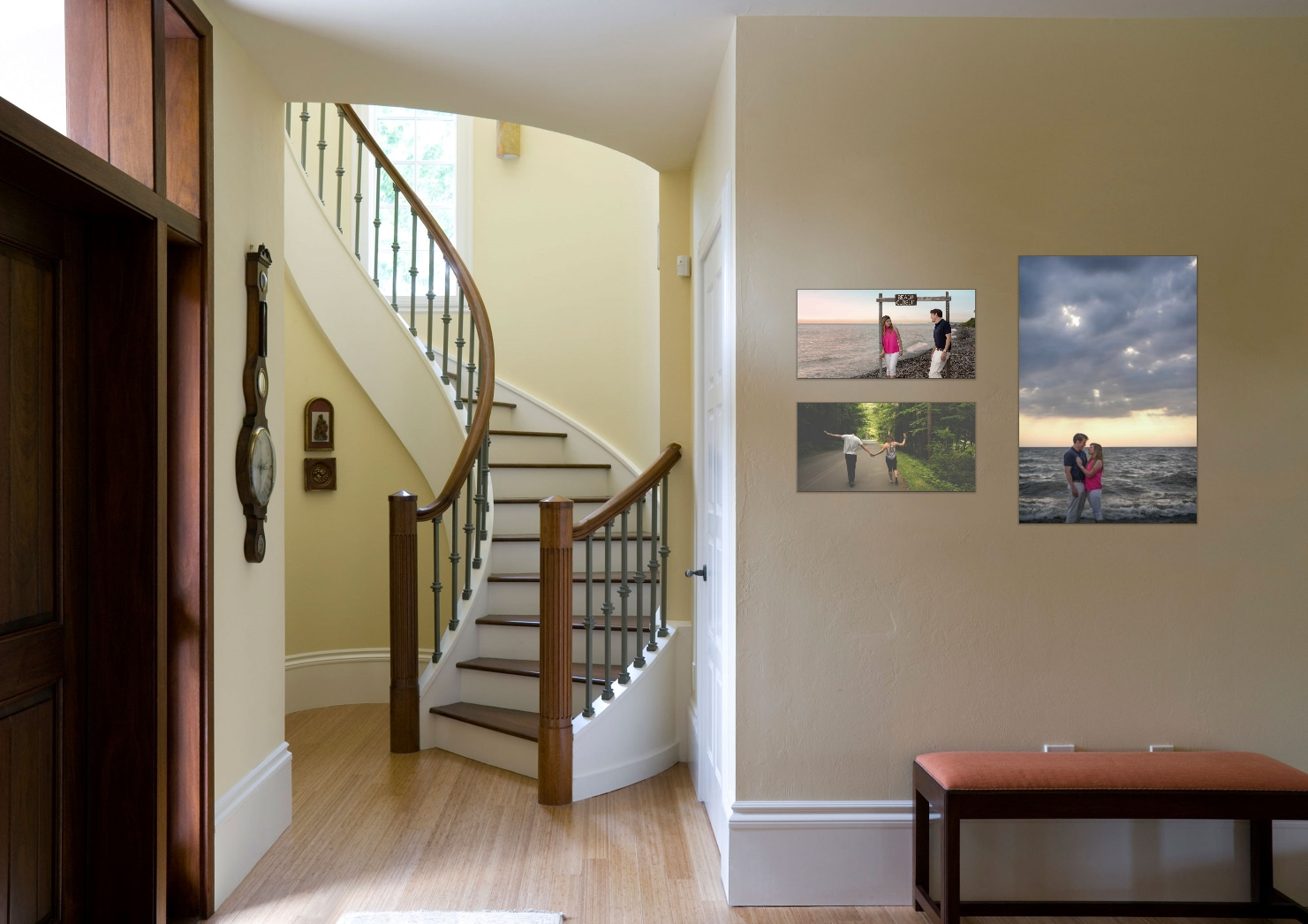 Custom wall art design from images of your spaces.