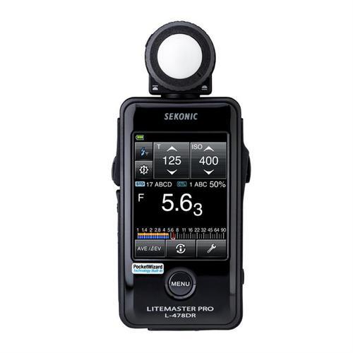 Sekonic Litemaster Pro-L 478DR (PocketWiz)  Läs mer här