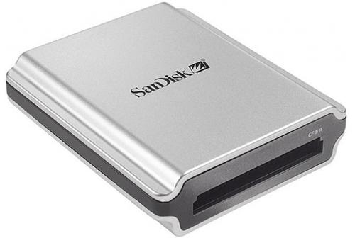 SanDisc minneskortläsare Extreme CF & FireWire  Läs mer här
