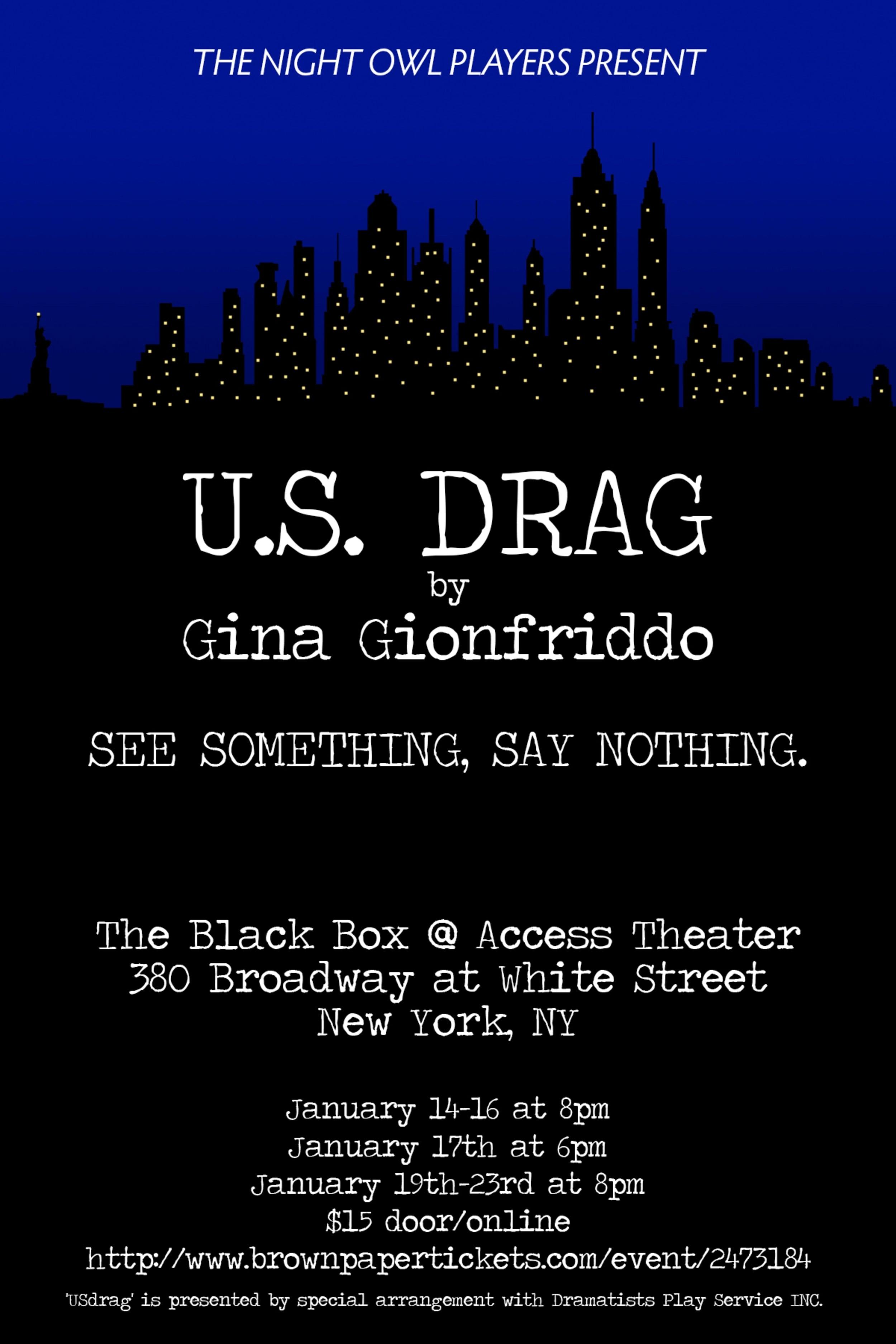 U.S. Drag Poster