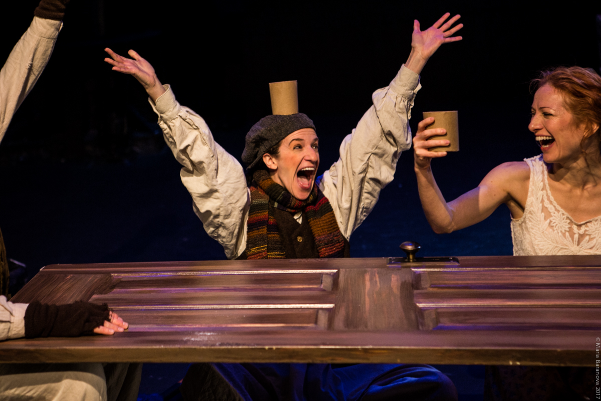 Tiny Tim in Blessed Unrest's  A Christmas Carol  Maria Baranova Photography