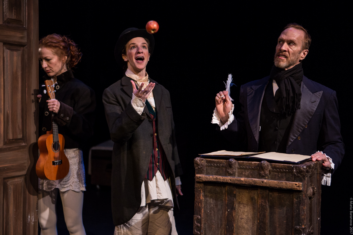 Fred in Blessed Unrest's  A Christmas Carol  Maria Baranova Photography