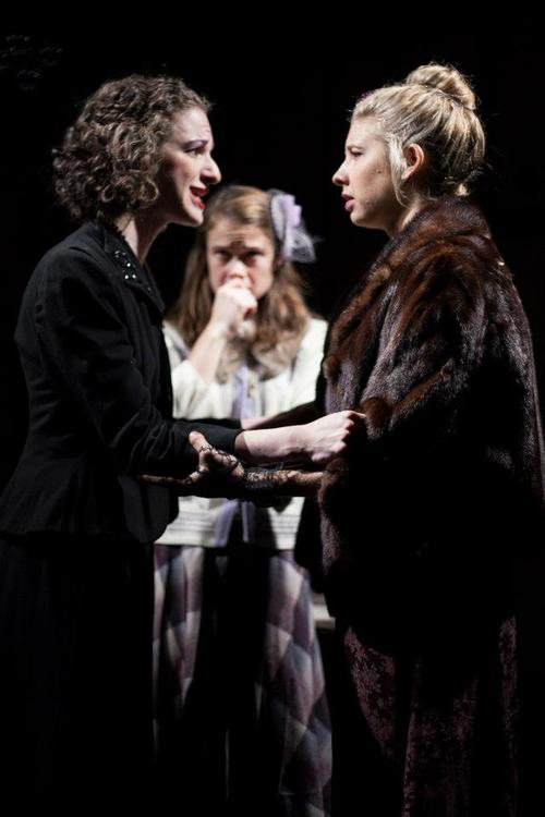 Lady Anne in No Fear Shakespeare's  Richard III  Erik Carter Photography