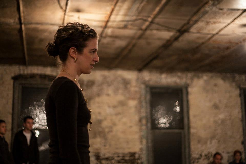 Lady Anne in No Fear Shakespeare's  Richard III Rehearsal Erik Carter Photography