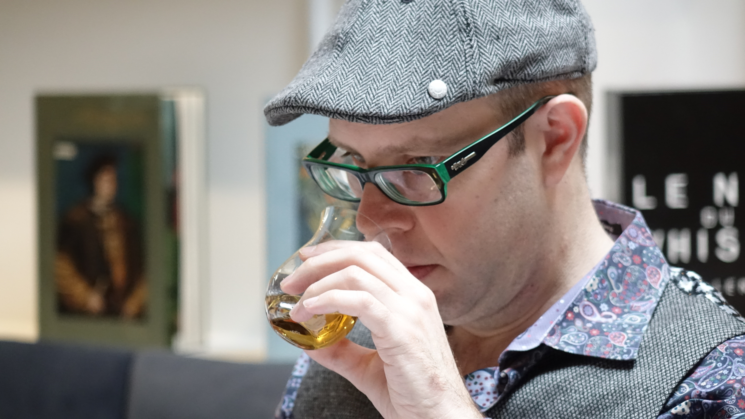 Adam Seger - 2015 International Whisky Competition