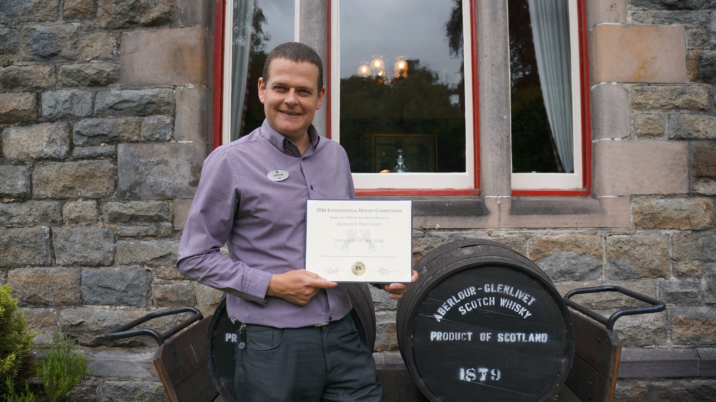 Rikki Scott, Distillery Manager, Aberlour