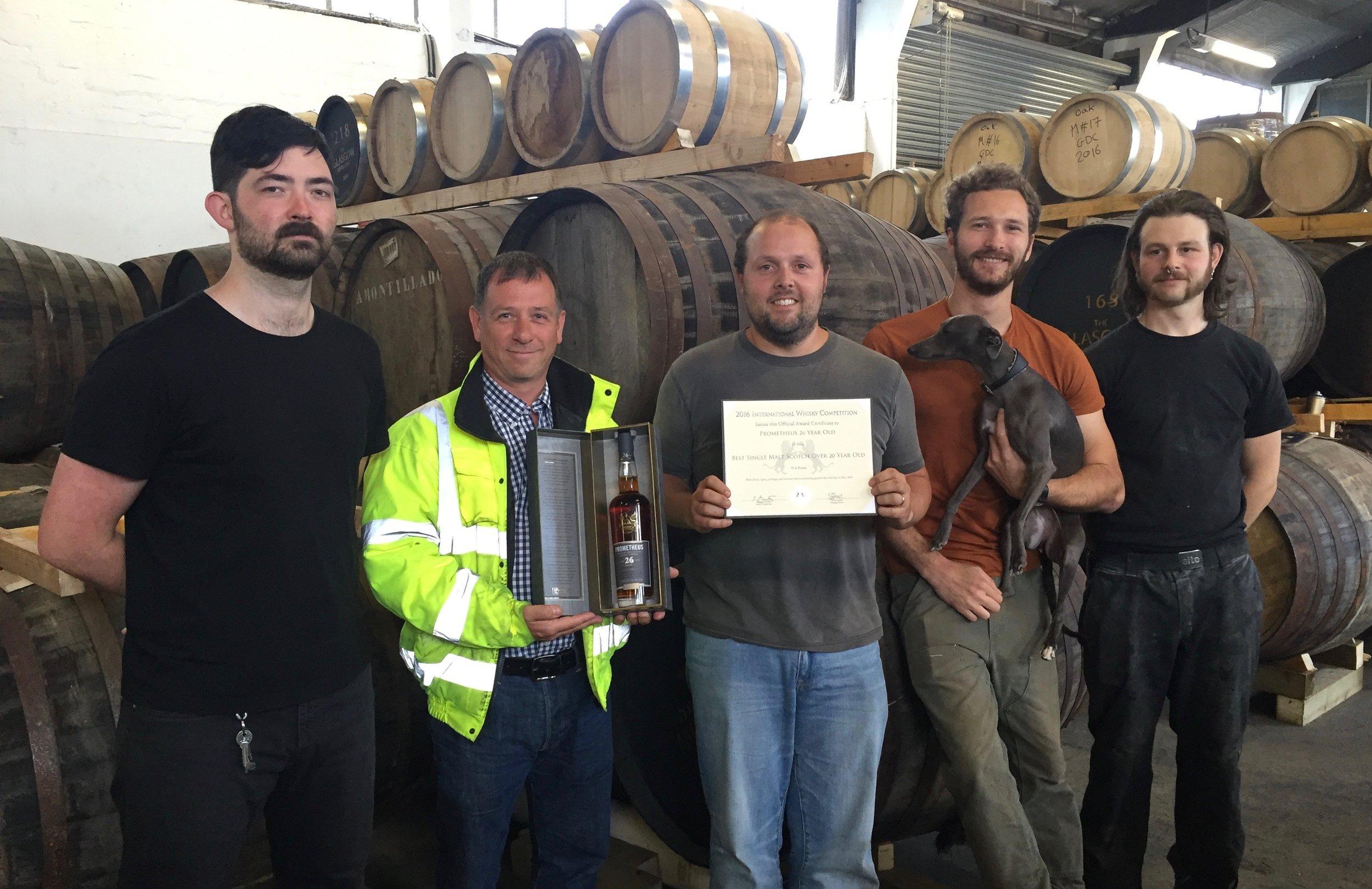 Glasgow Distillery Team