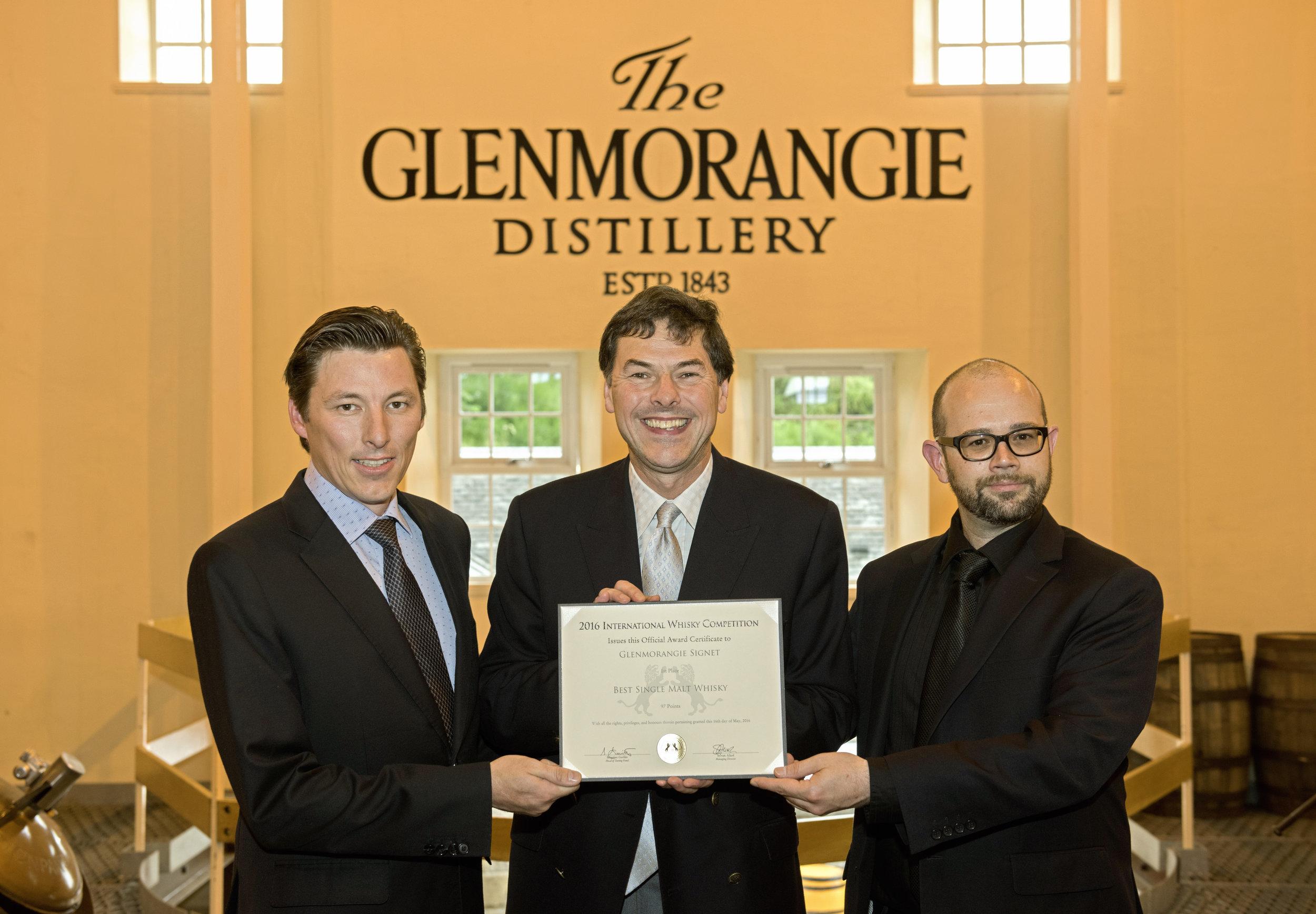 Dr Bill Lumsden, Glenmorangie,  Master Distiller of the Year
