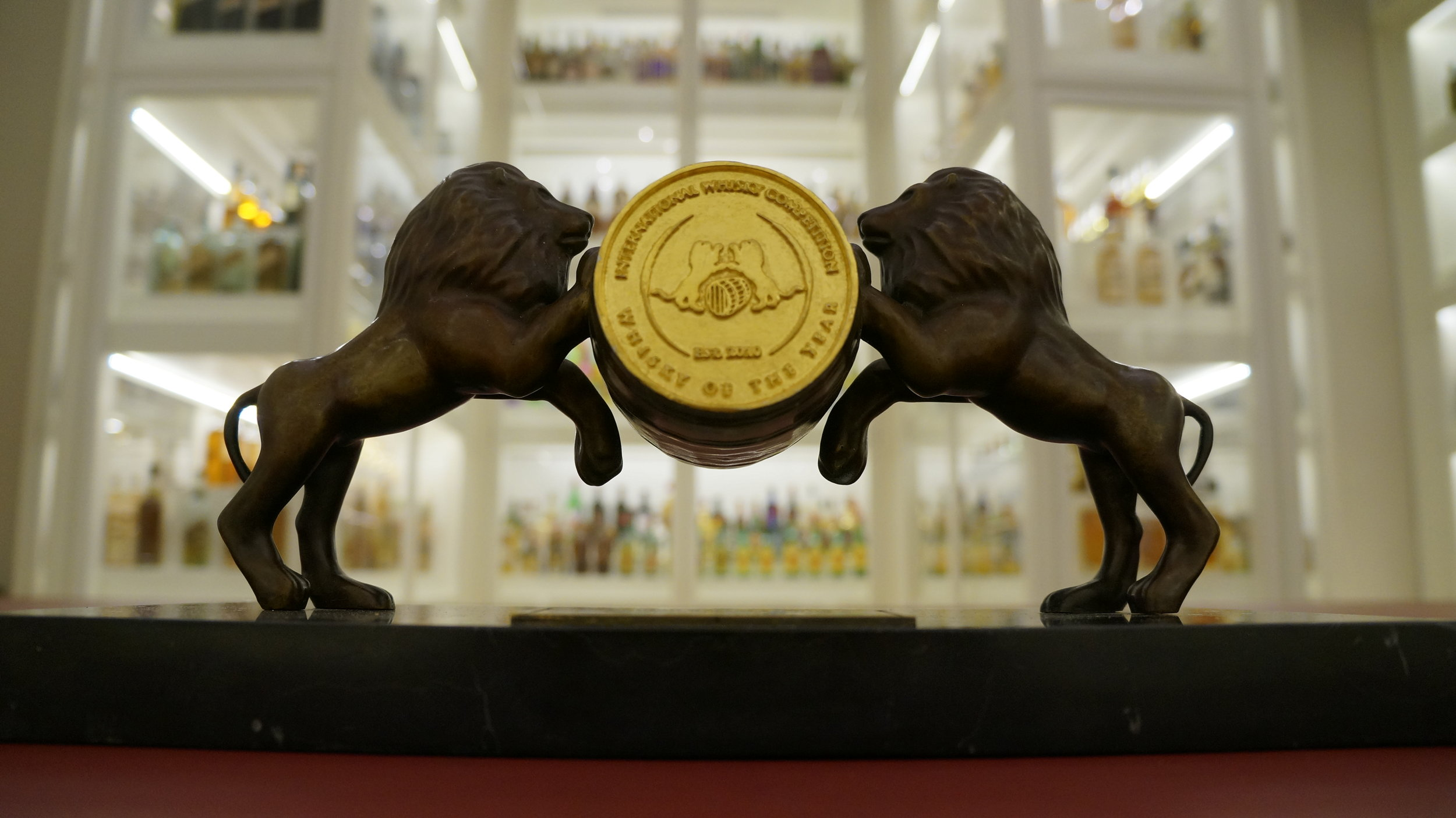Golden Barrel Trophy at Diageo Archives