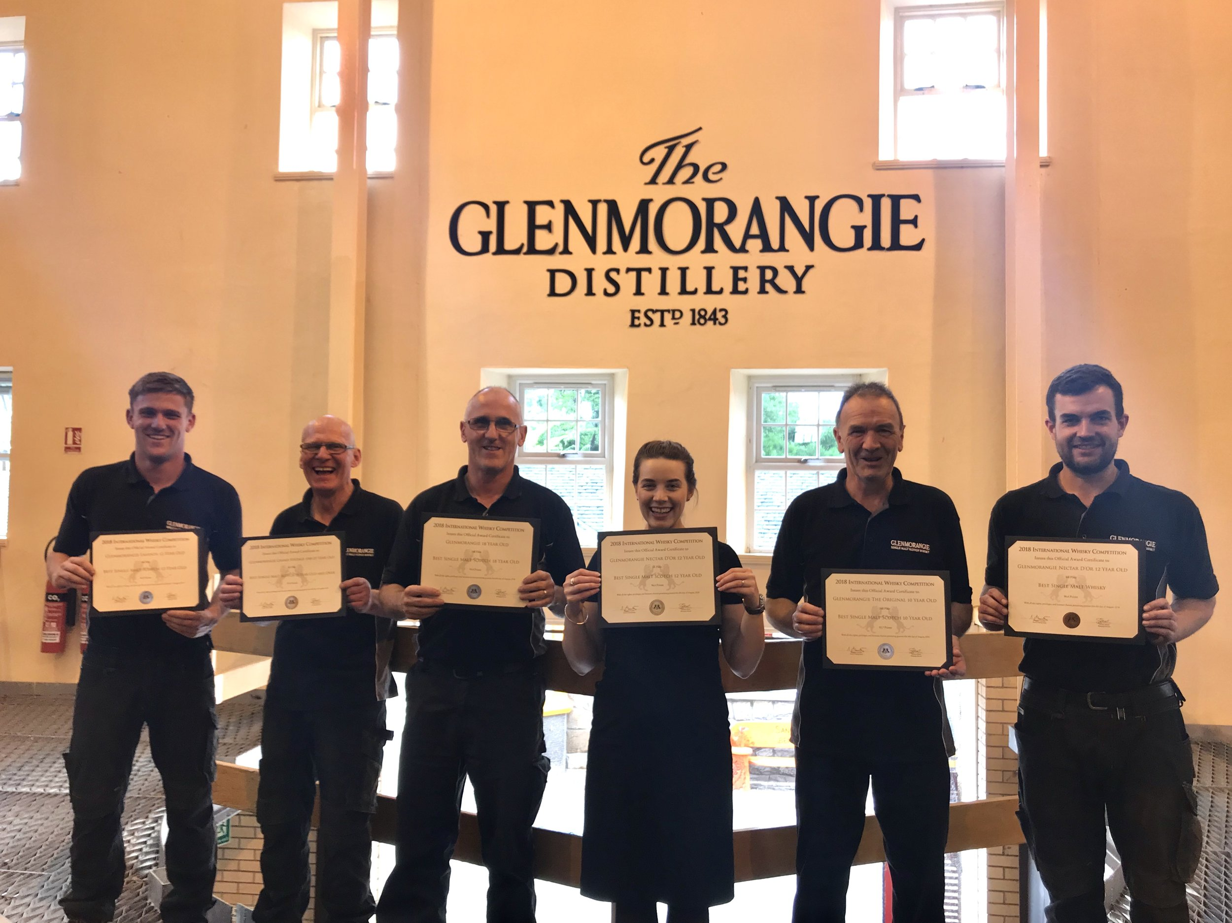 Awarding The Glenmorangie Distillery