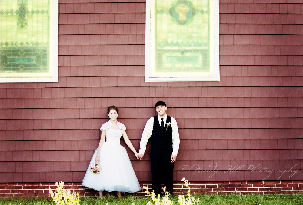 Canton Maine Wedding Photographer vintage bride and groom the church.jpg