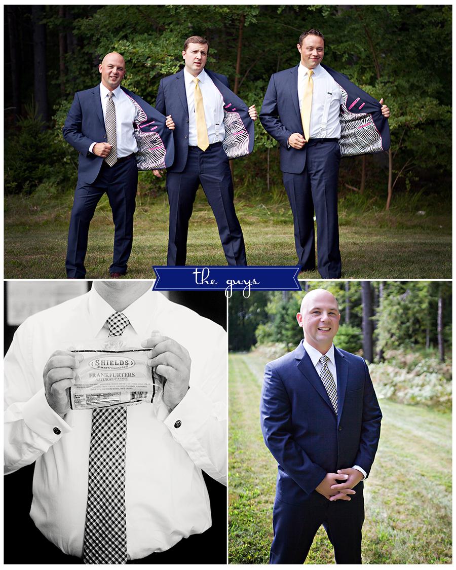 Maine Wedding Photographer the guys zebra suits hot pink hot dogs.jpg
