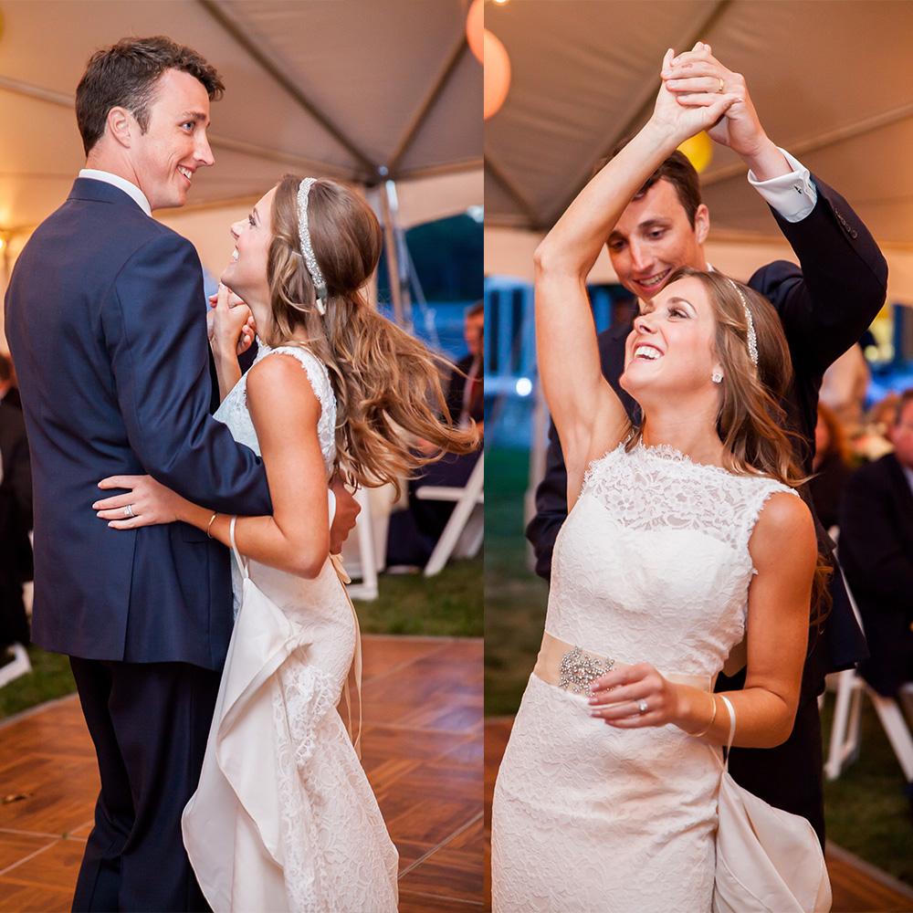first dance Maine wedding Photograper
