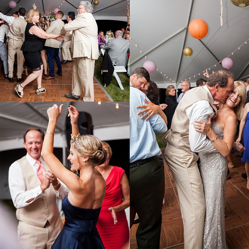 guest dancing maine wedding photographer