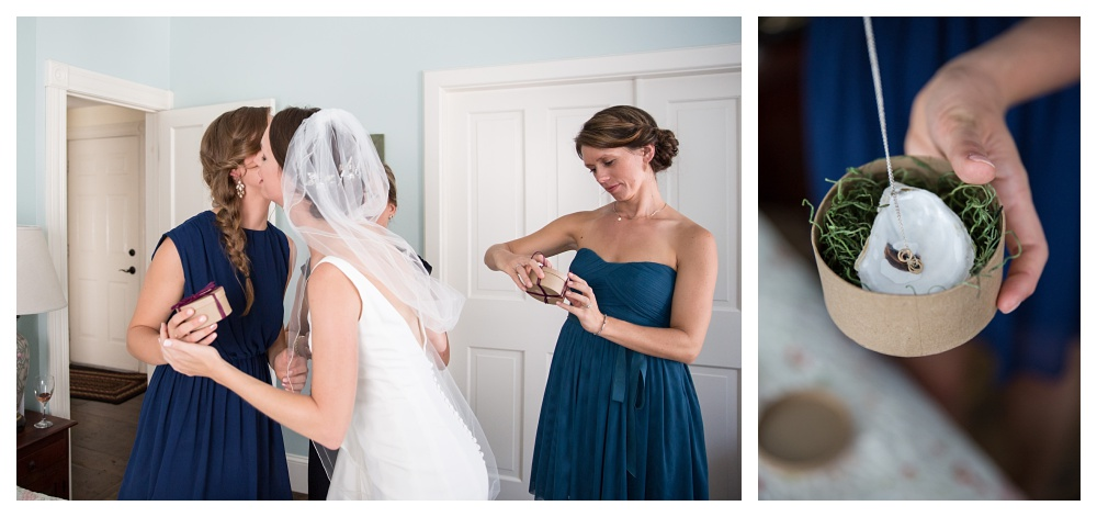 Maine wedding photography bridesmaids gifts