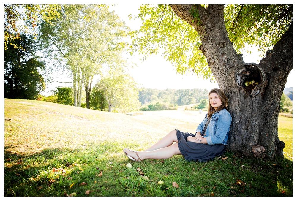 Maine Senior Photographer Class of 2016 Fall Damariscotta