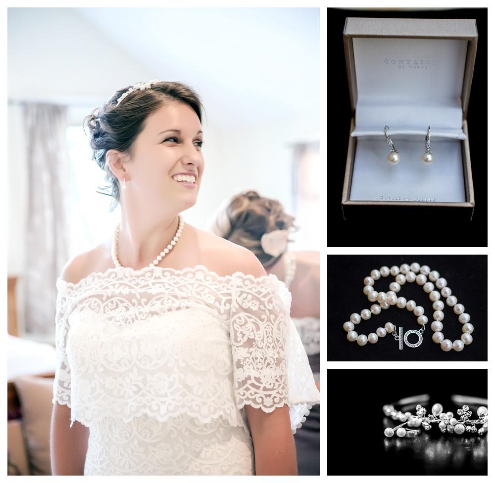Maine Wedding Photographer Bethel dress details