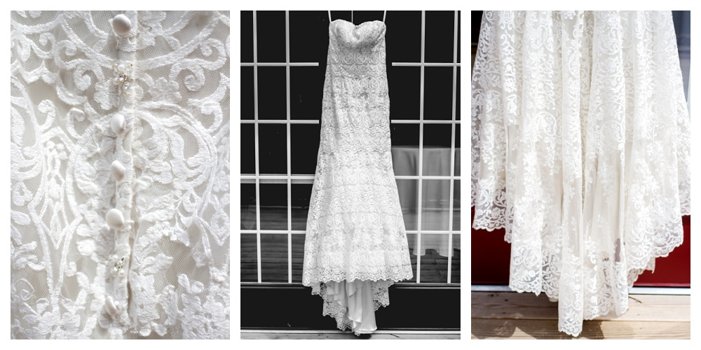 Maine Wedding Photographer Bethel the dress