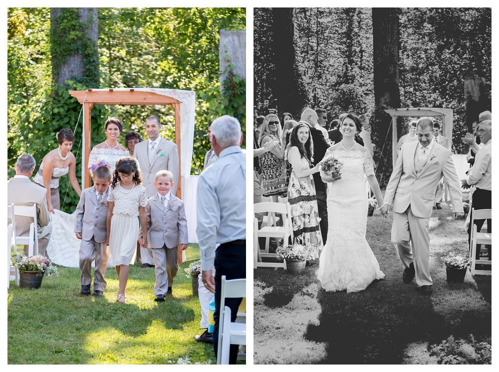 Maine Wedding Photographer Bethel Mr and Mrs