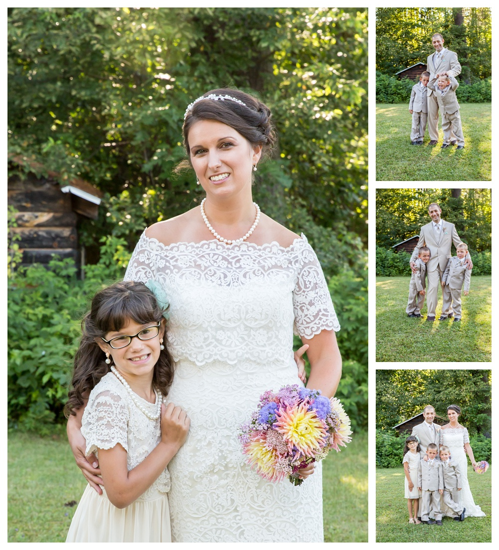 Maine Wedding Photographer family portraits