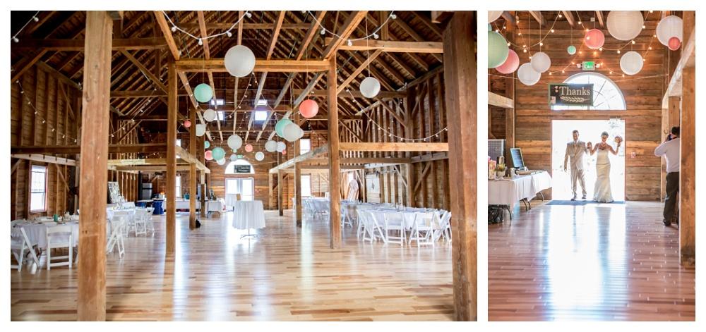 Maine Wedding Photography reception enterance