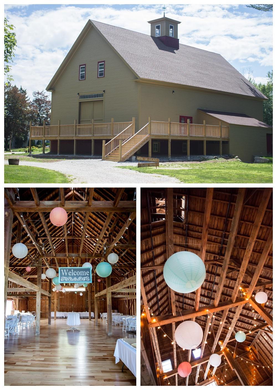 Maine Wedding Photographer Barn Venue 1888 Barn Sunday River