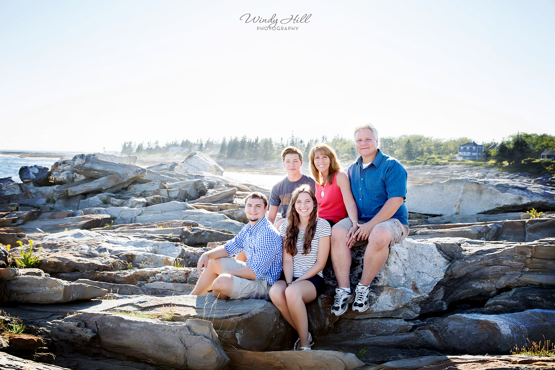 Maine Family Photographer Pemaquid Point Lighthouse