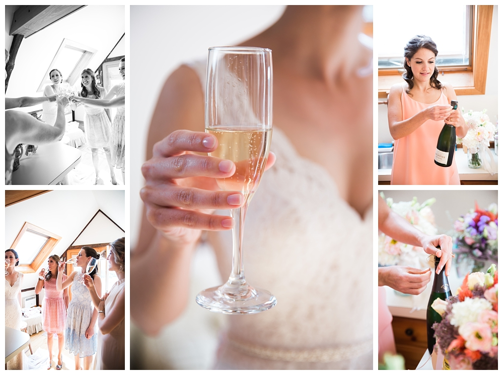 Maine Wedding Photographer Walpole Clark's Cove Champagne