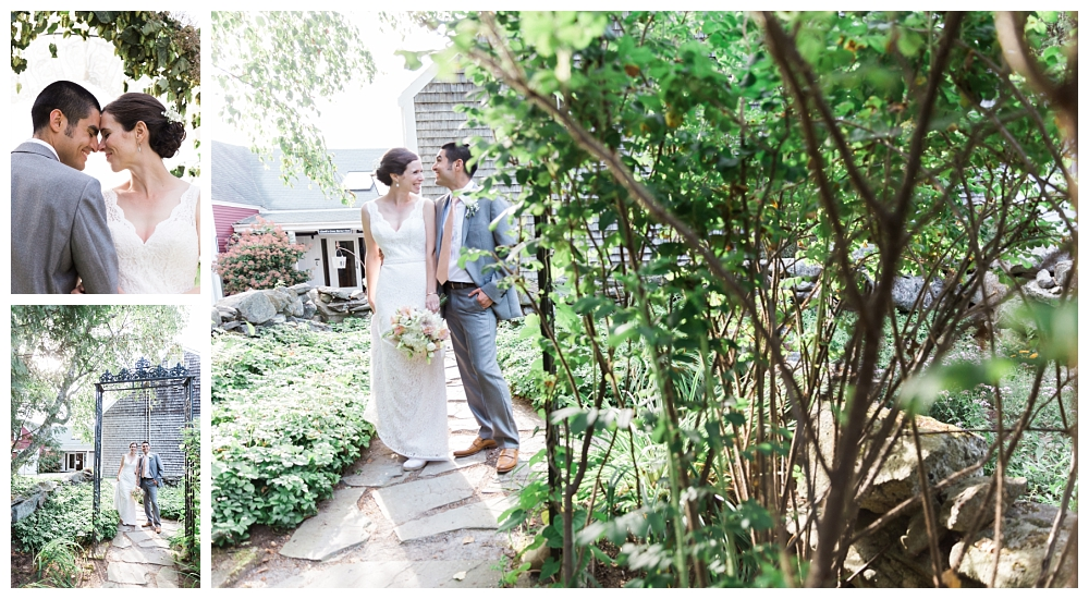 Maine Wedding Photographer Clark's Cove Farm & Inn Portraits Bride and Groom