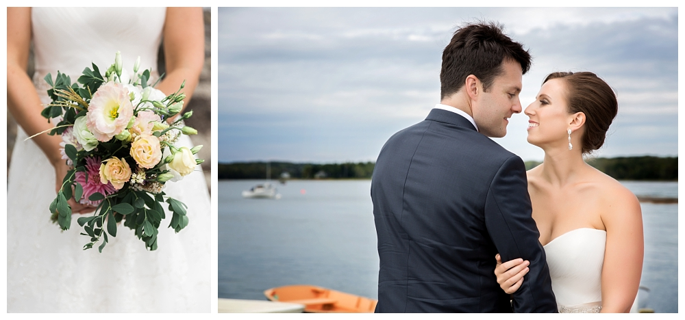 Maine Wedding Photographer Bride and Groom Portraits