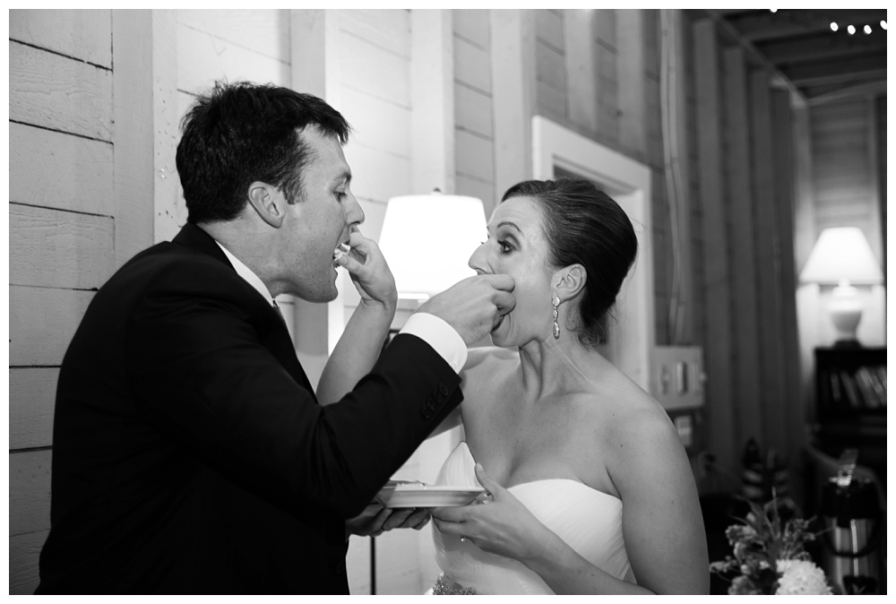Maine Wedding Photographer Harpswell Reception Cake
