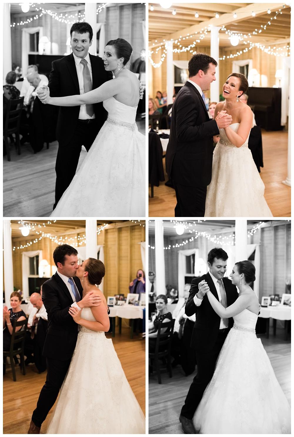 Maine Wedding Photographer First Dance Harpswell